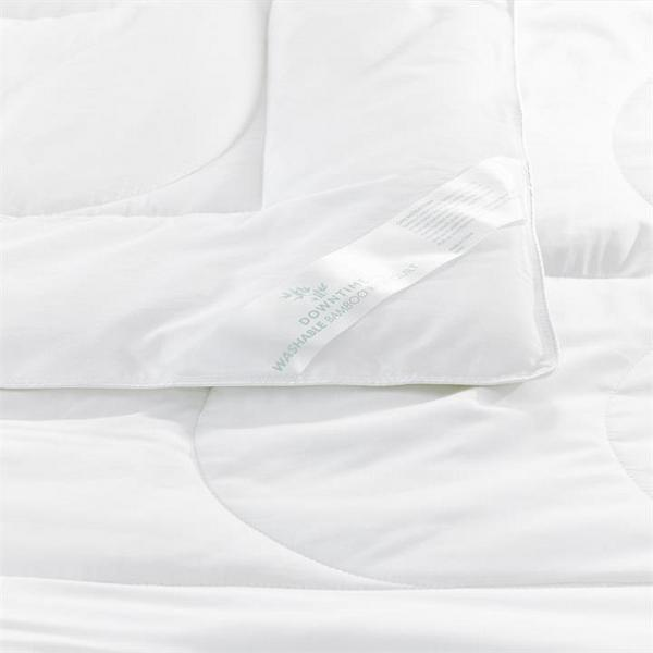 Downtime Kids Bamboo Rich Quilt DB - White By Adairs