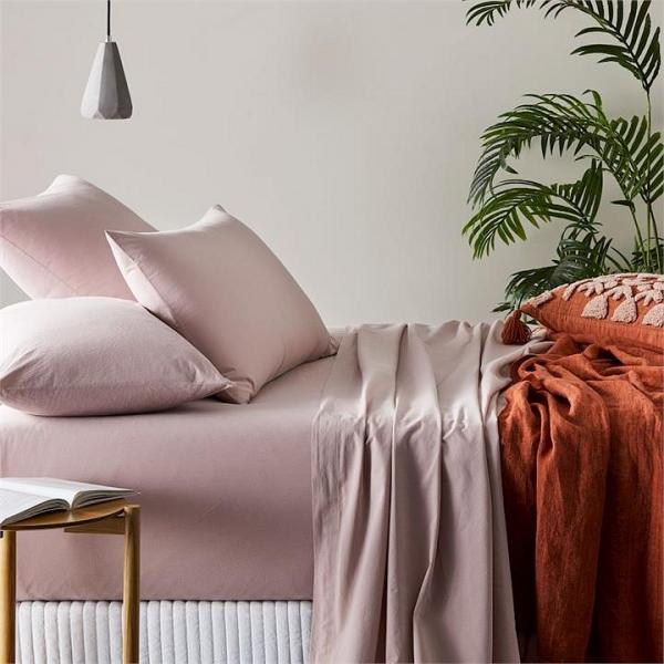 Home Republic SW Cotton Sheet Sets King Violet SS By Adairs