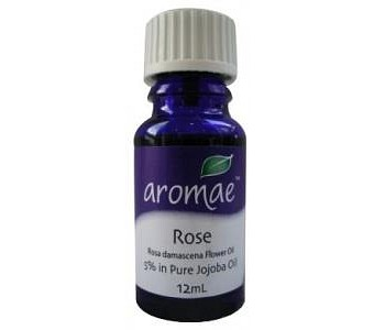 Aromae Rose 5% in Pure Jojoba Essential Oil 12mL