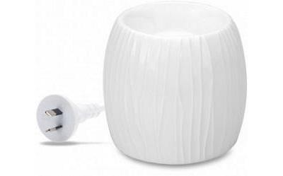 Aromamatic Wax Melt Electric Warmers White Pearl