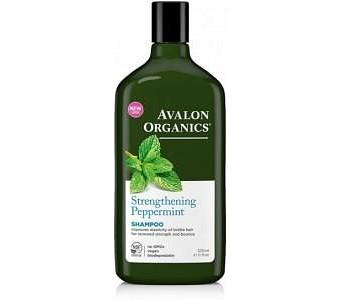 Avalon Organics Strengthening Peppermint Shampoo 325ml