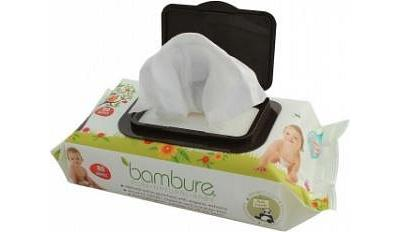 Bambure Bamboo Baby Wipes Pck80