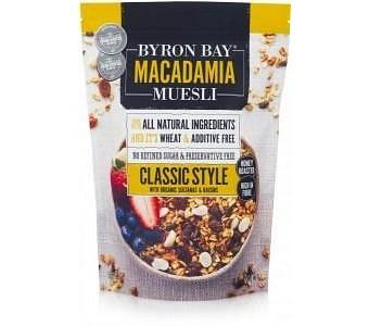 Byron Bay Macadamia Muesli Classic Style 450g