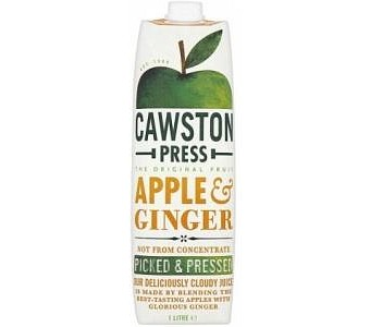 Cawston Press Apple Juice Apple & Ginger 1L