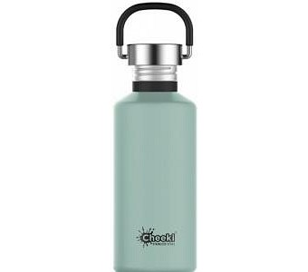 Cheeki Classic Stainless Steel Pistachio Bottle 500ml