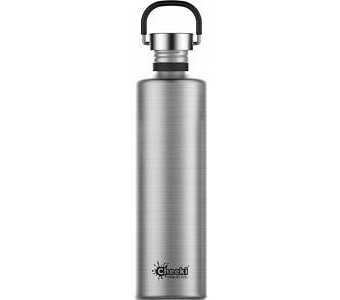 Cheeki Classic Stainless Steel Silver Bottle 1L