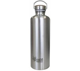 Cheeki Stainless Steel Thirsty Max Bottle Silver 1.6L