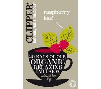 Clipper Organic Relaxing Infusion - Raspberry Leaf 20Teabags