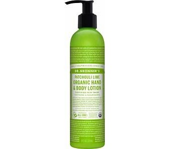 Dr Bronner's Lotion Patchouli Lime 237ml