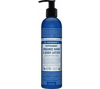 Dr Bronner's Lotion Peppermint 237ml