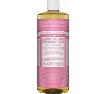 Dr Bronner's Pure Castile Liquid Soap Cherry Blossom 946ml
