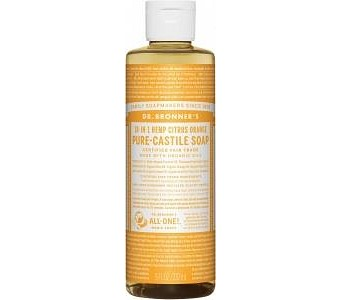 Dr Bronner's Pure Castile Liquid Soap Citrus 237ml