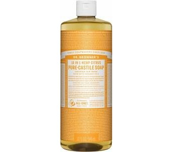 Dr Bronner's Pure Castile Liquid Soap Citrus 946ml
