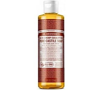 Dr Bronner's Pure Castile Liquid Soap Eucalyptus 237ml