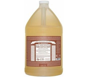 Dr Bronner's Pure Castile Liquid Soap Eucalyptus 3.78L