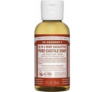 Dr Bronner's Pure Castile Liquid Soap Eucalyptus 59ml