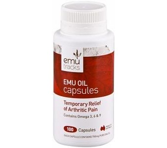 Emu Tracks Emu Oil 750mg 100caps