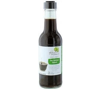 Global Organics Low Sodium Tamari Sauce 250ml