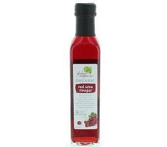 Global Organics Red Wine Vinegar G/F 250ml
