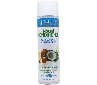 Grahams Natural Conditioner with Coconut & Manuka Honey 250ml