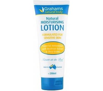 Grahams Natural Moisturising Body Lotion 200ml