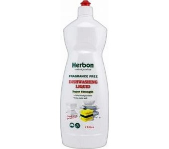 Herbon Fragrance Free Dishwashing Liquid 1lt