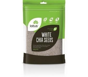 Lotus Chia Seeds White G/F 500g