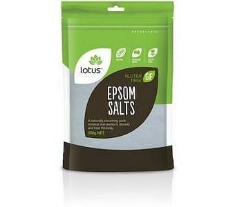 Lotus Epsom Salts G/F 500g