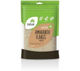 Lotus Organic Amaranth Flakes Rolled G/F 375g