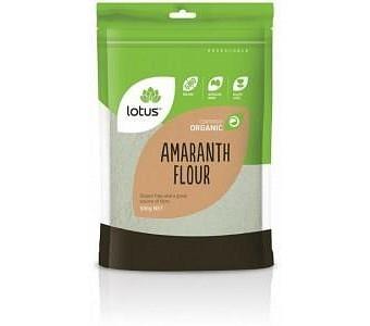 Lotus Organic Amaranth Flour G/F 500g