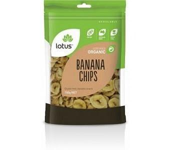 Lotus Organic Banana Chips 150gm