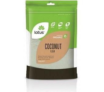 Lotus Organic Coconut Flour G/F 500g