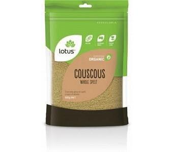 Lotus Organic Cous Cous Whole Spelt 500g