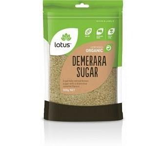 Lotus Organic Demerara Sugar 500gm