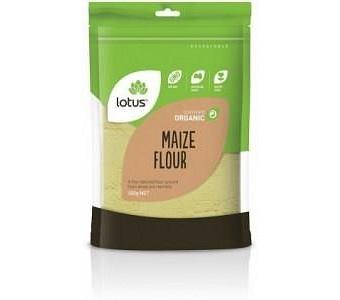 Lotus Organic Maize Flour 500gm