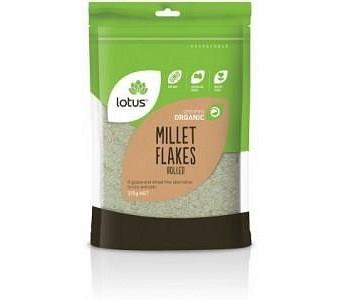 Lotus Organic Rolled Millet 375gm