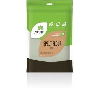 Lotus Organic Spelt Flour White 1kg