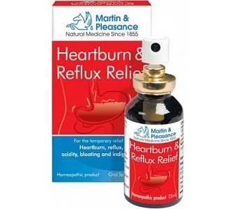 Martin & Pleasance 25ml Heartburn & Reflux