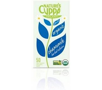 Natures Cuppa Organic Chamomile with Peach 50 Teabags