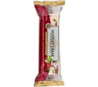 Nougat Limar G/F Cherry,Cranberry & Pistachio 150g