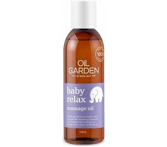 Oil Garden Baby Relax Massage Oil 125ml