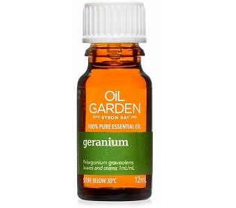 Oil Garden Geranium Pure Essential Oil 12ml
