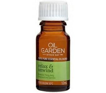Oil Garden Relax & Unwind Pure Essential Oil Blends 12ml