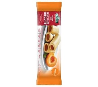 Orgran Apricot Fruit Filled Biscuits 175g