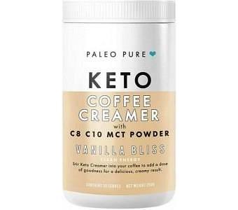 Paleo Pure Keto Coffee Creamer w/MCT Powder Vanilla Bliss 250g