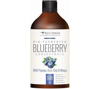 Rochway Bio-Fermented Blueberry Probiotic G/F 500ml