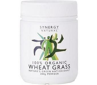 Synergy Organic Wheat Grass Powder 200g