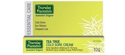 TP Tea Tree Cold Sore Cream 10gm