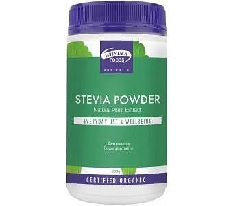 Wonderfoods Organic Herbal Stevia Powder 200gm
