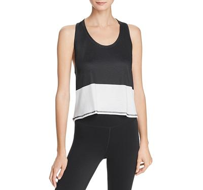 Everlast Color-Block Cropped Tank